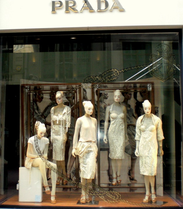 Prada Window Display May 2009