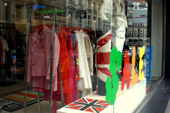 JC de Castelbajac London Window Display July 2009
