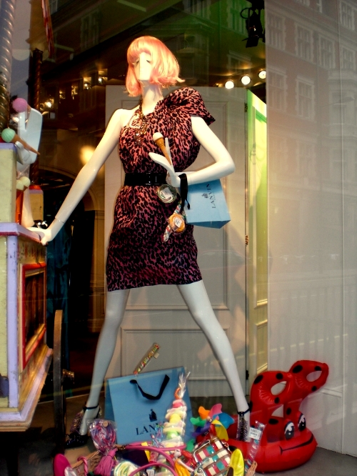 Lanvin: London Window Display. May 2009