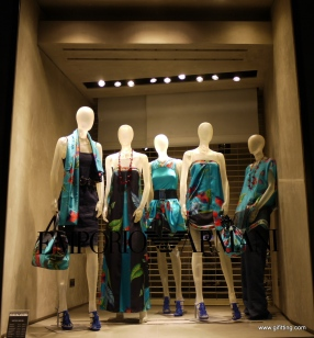 Emporio Armani: London Window Display. May 1st. Week. Mayfair