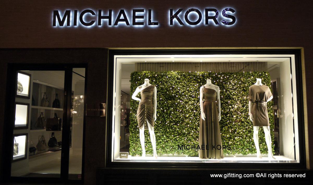 Michael kors london window display january 1st week for 1st window
